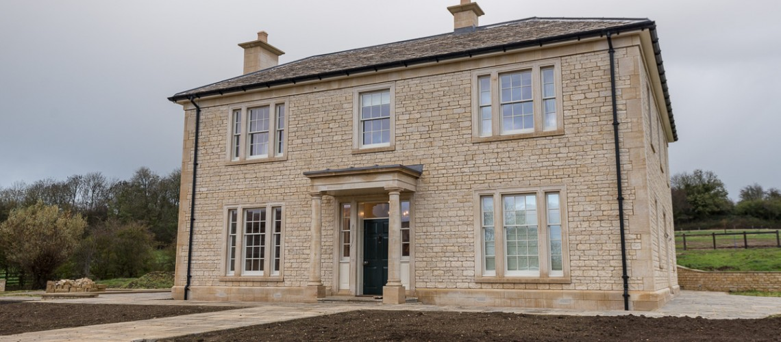White Lodge – modern technology in a traditional house